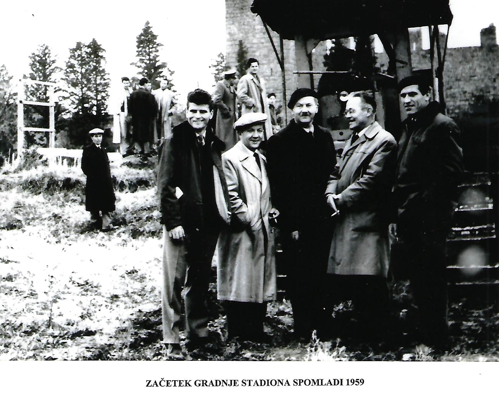 Piran-1959_začetek-gradnje-stadiona